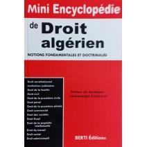 Mini Encyclopédie de DROIT Algérien