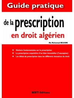 LA PRESCRIPTION EN DROIT ALGERIEN