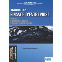 Manuel de Finance d'entreprise